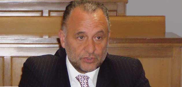 Il Sindaco di Colleferro Mario Cacciotti