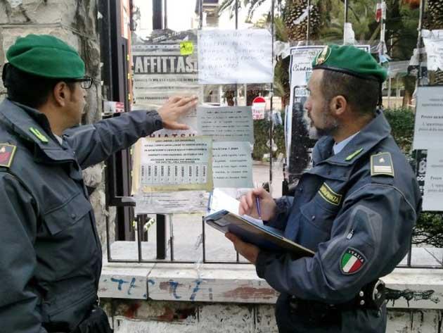 Roma affitti in nero la guardia di finanza sequestra 47 for Affitti mezzocammino roma