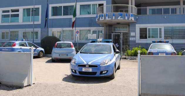 La sede del Commissariato della Polizia di Stato di Anzio-Nettuno