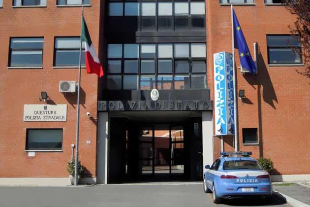 La sede della Questura di Rieti