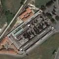 Il cimitero comunale di Colleferro (aerea)