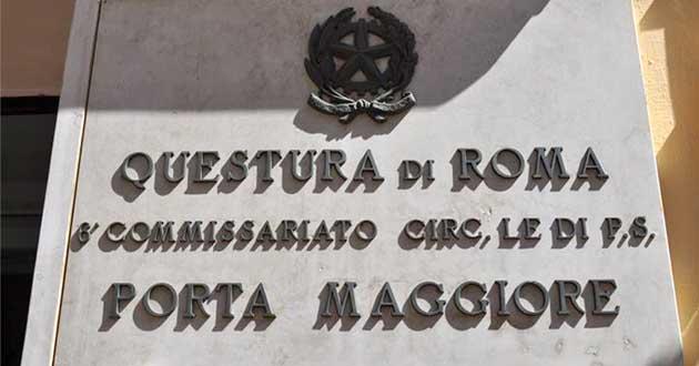 Roma richieste di denaro e violenze subite una madre - Commissariato porta maggiore ...