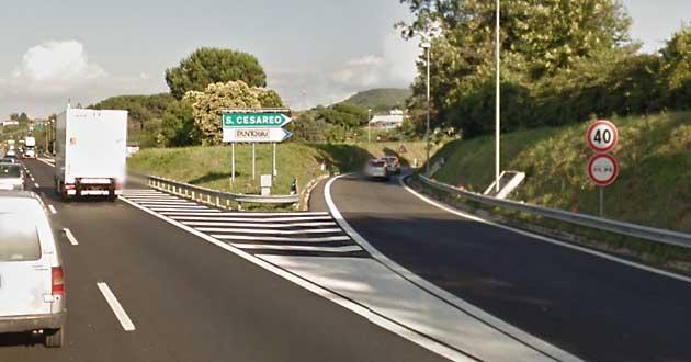 Uscita Autostrada San Cesareo