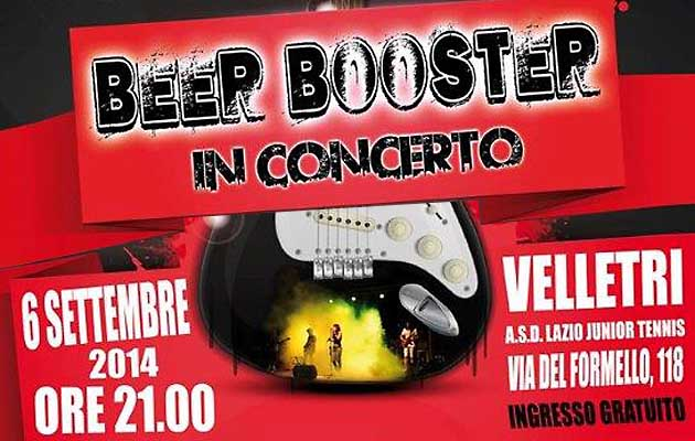 Beer Booster in Concerto a Velletri