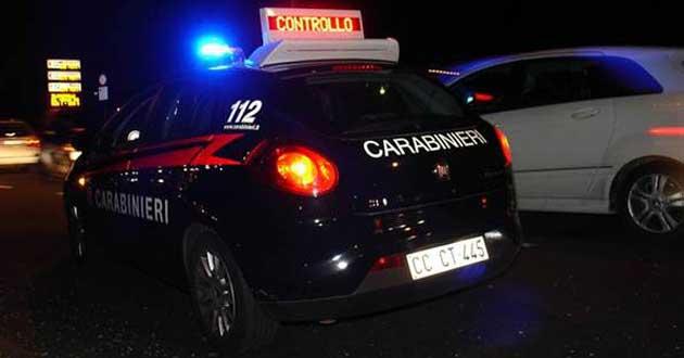 Carabinieri controllo