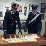 A Labico i Carabinieri arrestano un giovane pusher locale e sequestrano quasi un chilo di hashish