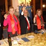 Festeggiati i trent'anni del Rotary Club di Subiaco alla presenza del governatore distrettuale Carlo Noto La Diega [Foto]