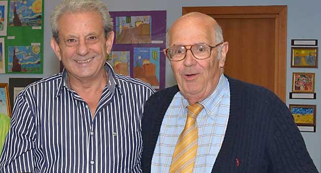 Unitre Colleferro. Il Presidente Giuseppe Torti ed il Vicepresidente Leonello Bianchi
