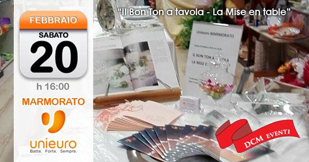 Promessi sposi e non solo tre appuntamenti da non perdere allo store unieuro marmorato di - Bon ton a tavola ...