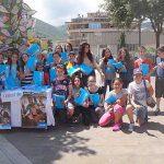 """Colleferro. Un banchetto degli alunni della """"Leonardo da Vinci"""" per raccogliere fondi in favore dell'Unicef [FotoeVideo]"""
