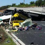 Grave incidente stradale sulla A1 tra Colleferro e Valmontone in direzione Roma. Chiuso il tratto autostradale. 6Km di coda