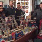 Roma. La Guardia di Finanza sequestra oltre 700 Kg di botti illegali e denuncia 5 persone [Foto]