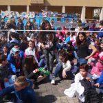 """Colleferro. Grandissimo successo per la prima edizione de """"La Grande Lessive"""" in Piazza Italia [FotoeVideo]"""