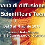 """Colleferro. Tutto pronto per la II Edizione della """"Settimana di diffusione della Cultura Scientifica e Tecnologica"""" organizzata dall'Itis """"S.Cannizzaro"""""""