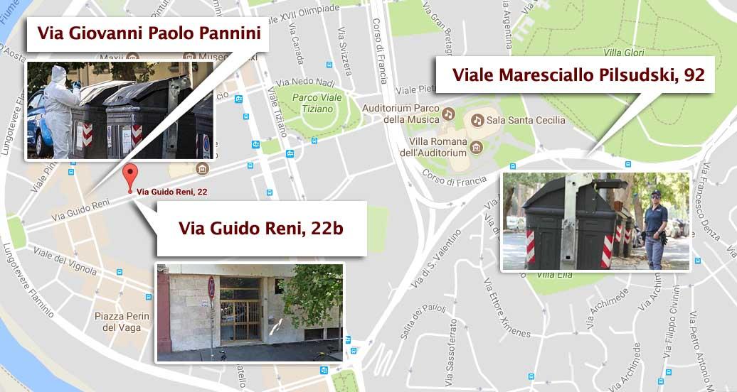 Giallo a Roma: parti amputate di donna in cassonetto
