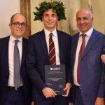 Congratulazioni vivissime per Emiliano Lepore laureatosi con il massimo dei voti in Economia e Marketing alla Luiss di Roma