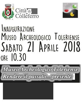Inaugurazione Museo Archeologico Colleferro